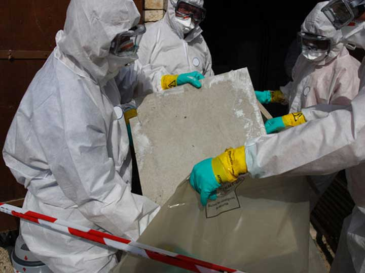 How to remove asbestos shingles