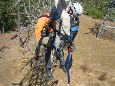 Tower Climbing and Tower Rescue Training. Brisbane, Sydney ...