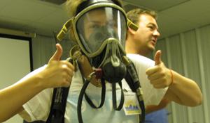 Operate Breathing Apparatus