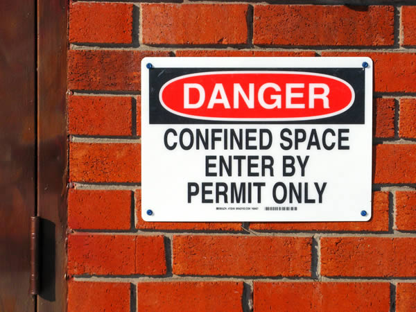safety confined space working training courses